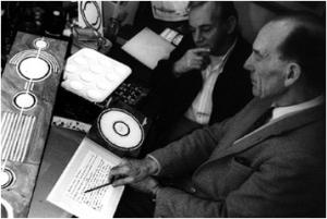 Doug y Dave en un momento creativo (1992). Circlemakers.