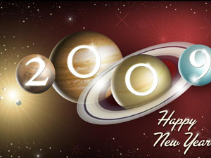 Feliz año 2009. NASA/JPL