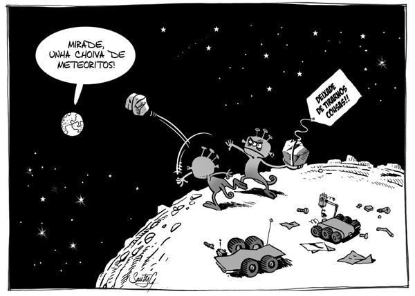 """Ilustración de Santy Gutierrez para """"Pó de Estrelas"""""""
