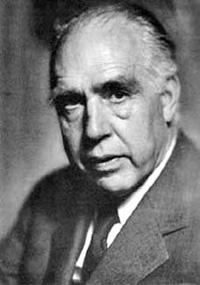 El físico danés Niels Bohr