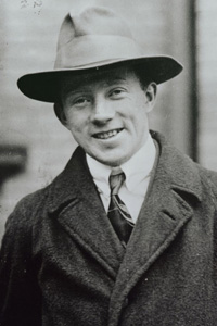 El físico Werner Heisenberg